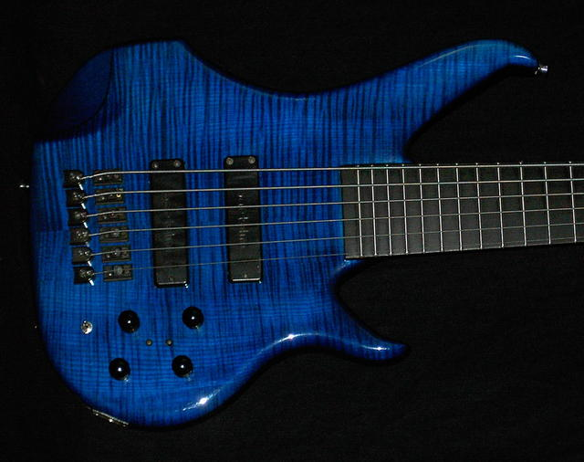 Max Flamed Maple Blue