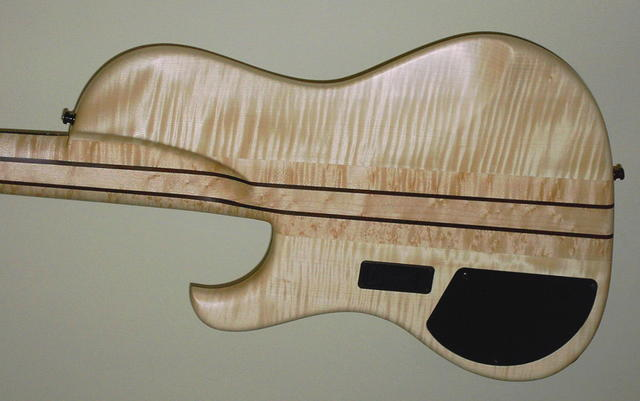 Backside Flamed Maple