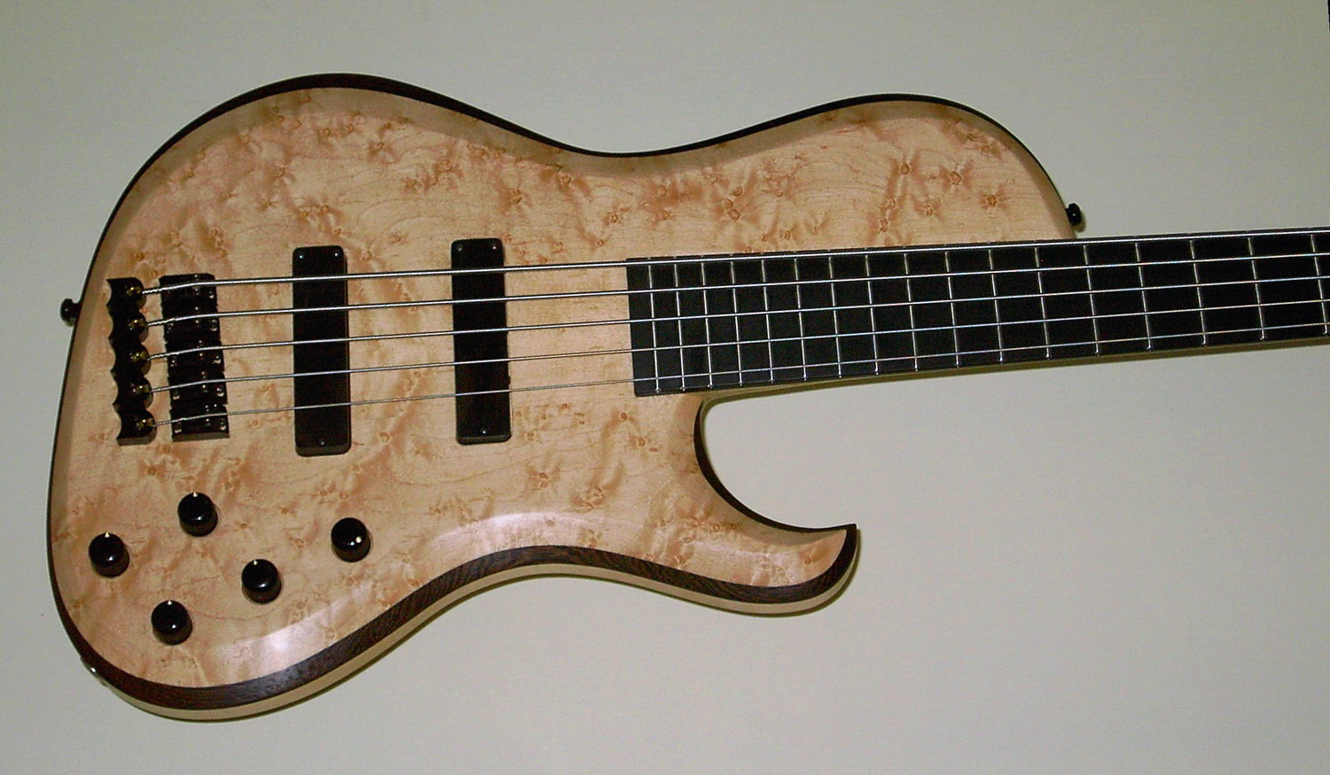 Body Birdseye Maple - Wenge